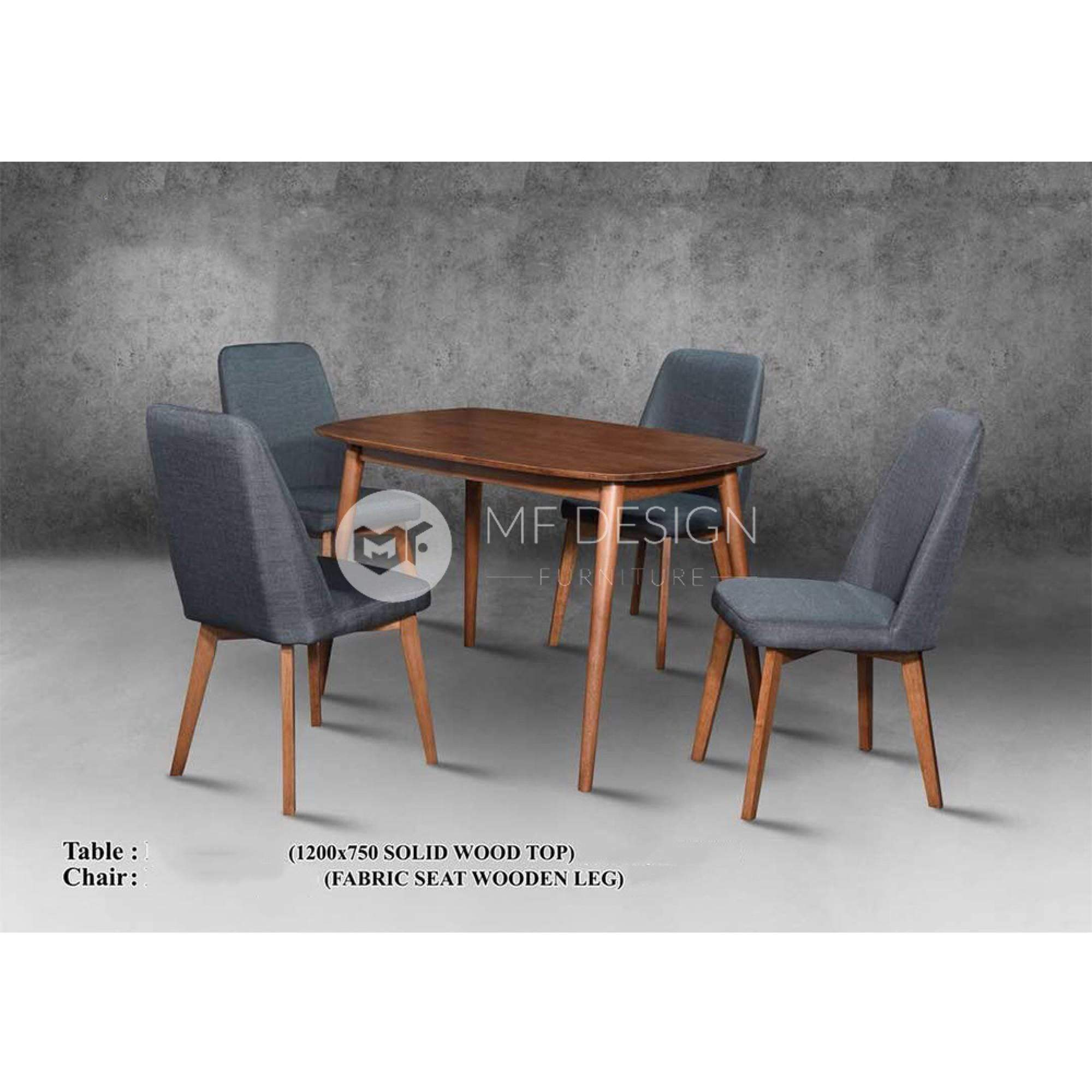mfdesign88 Dining Sets Robin Dining Set ( 1 Table + 4 Chairs )