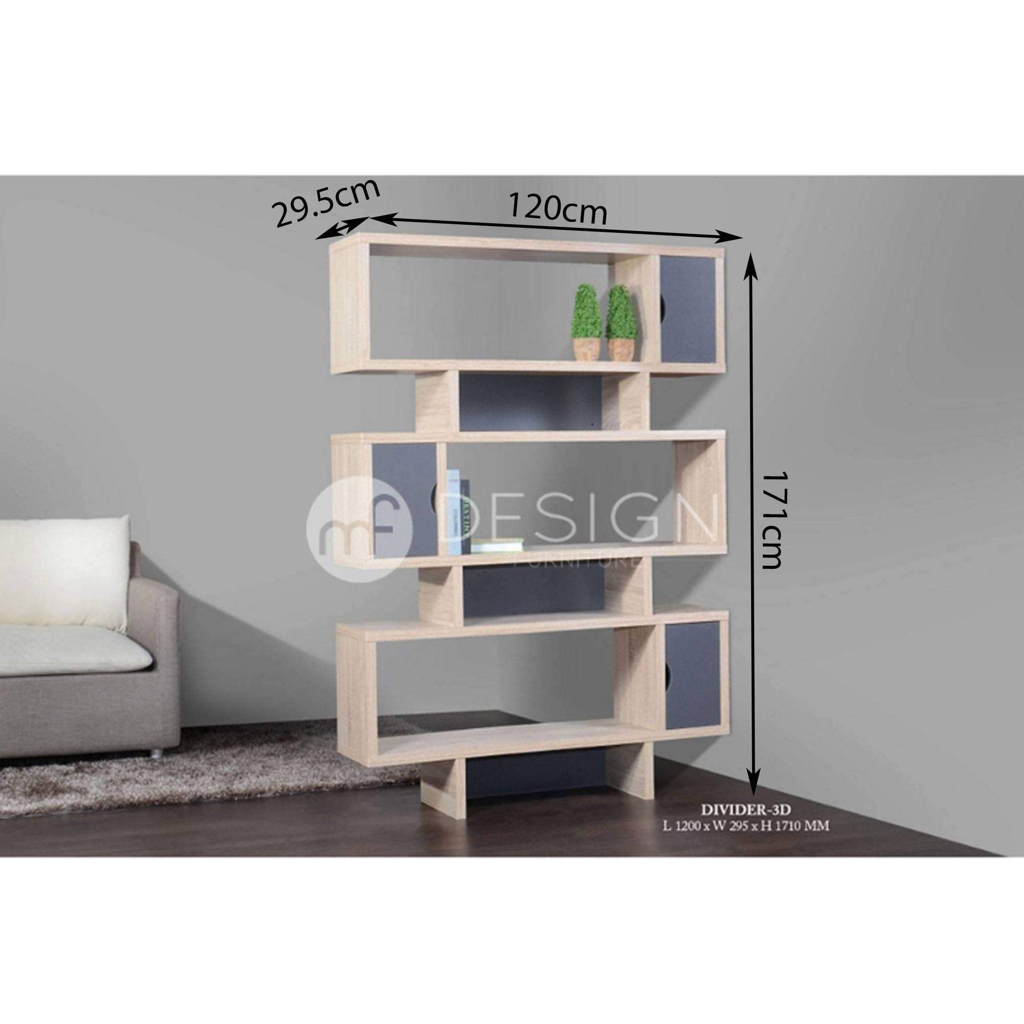 24 FILLO 4 GREY DRAWER SHELF DIVIDER