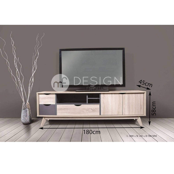 24 FILLO CLEON 6FT TV CABINET