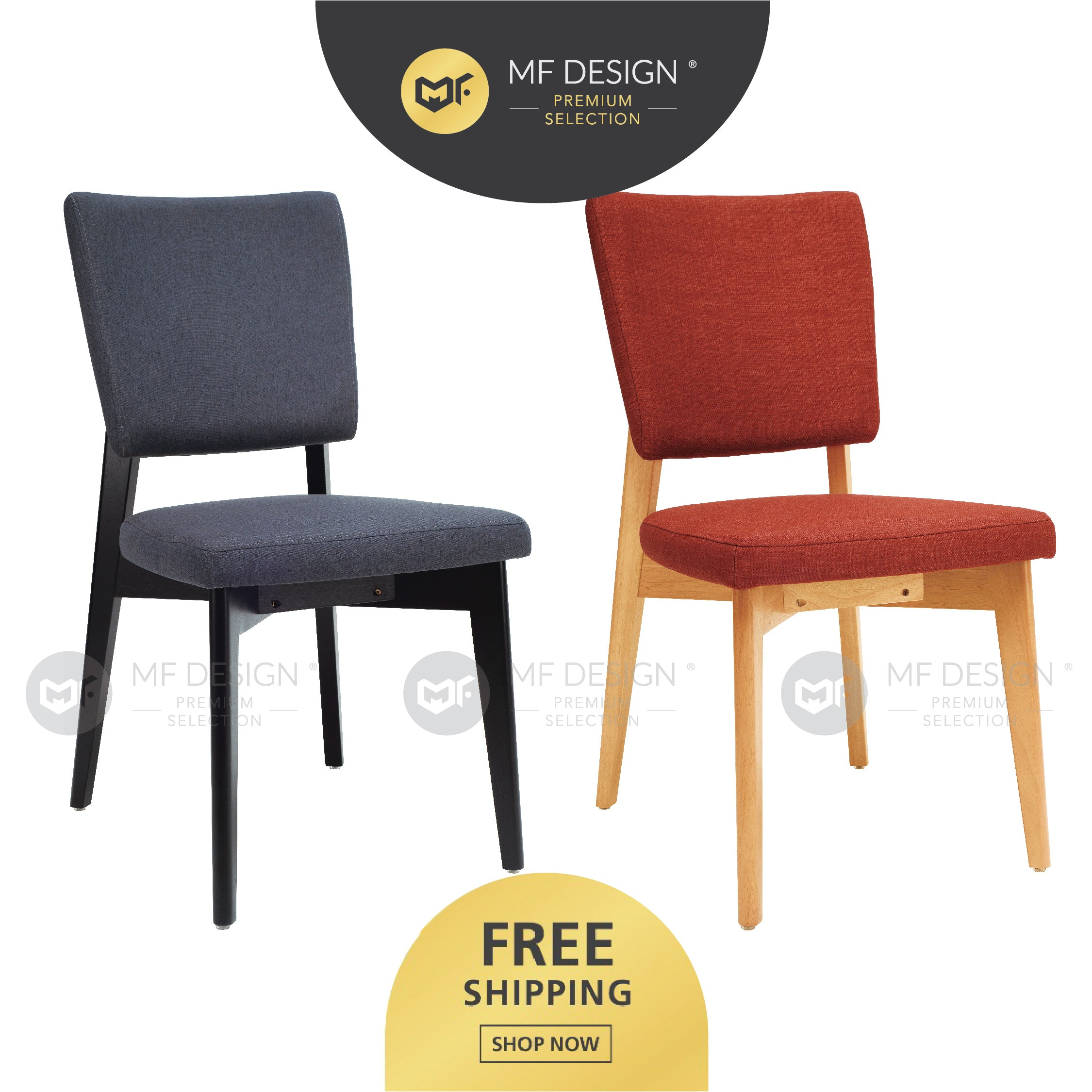 MFD Pemium Gilbert Dining Chair / kerusi / chair