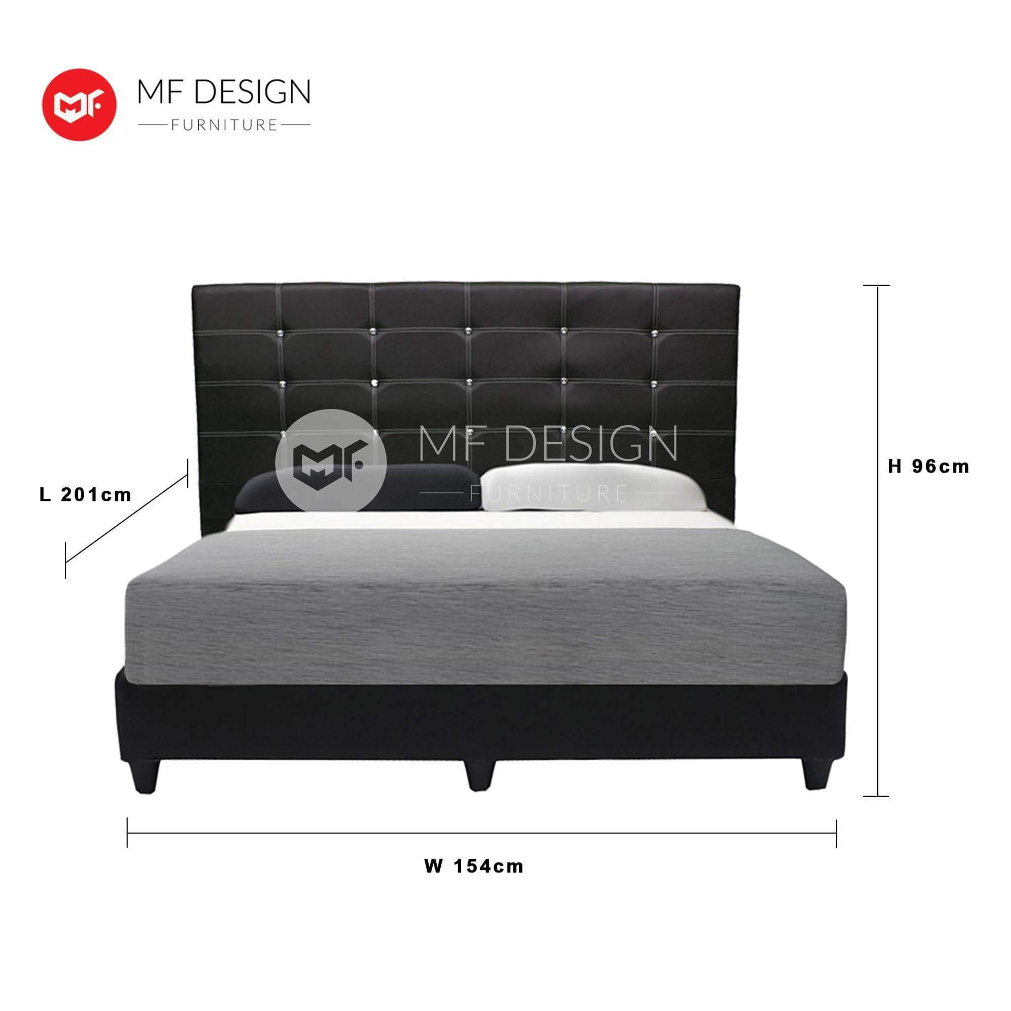 mfdesign88 GRORIOUS QUEEN SIZE DIVAN BED