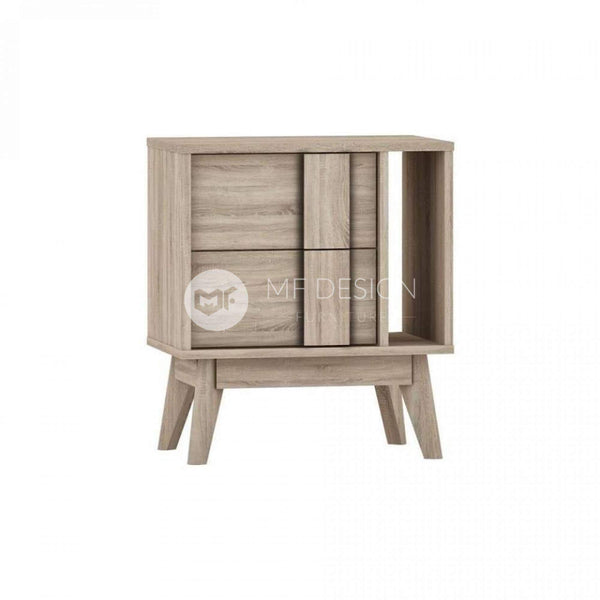 24 HACHI SIDE TABLE WITH 2 DRAWERS