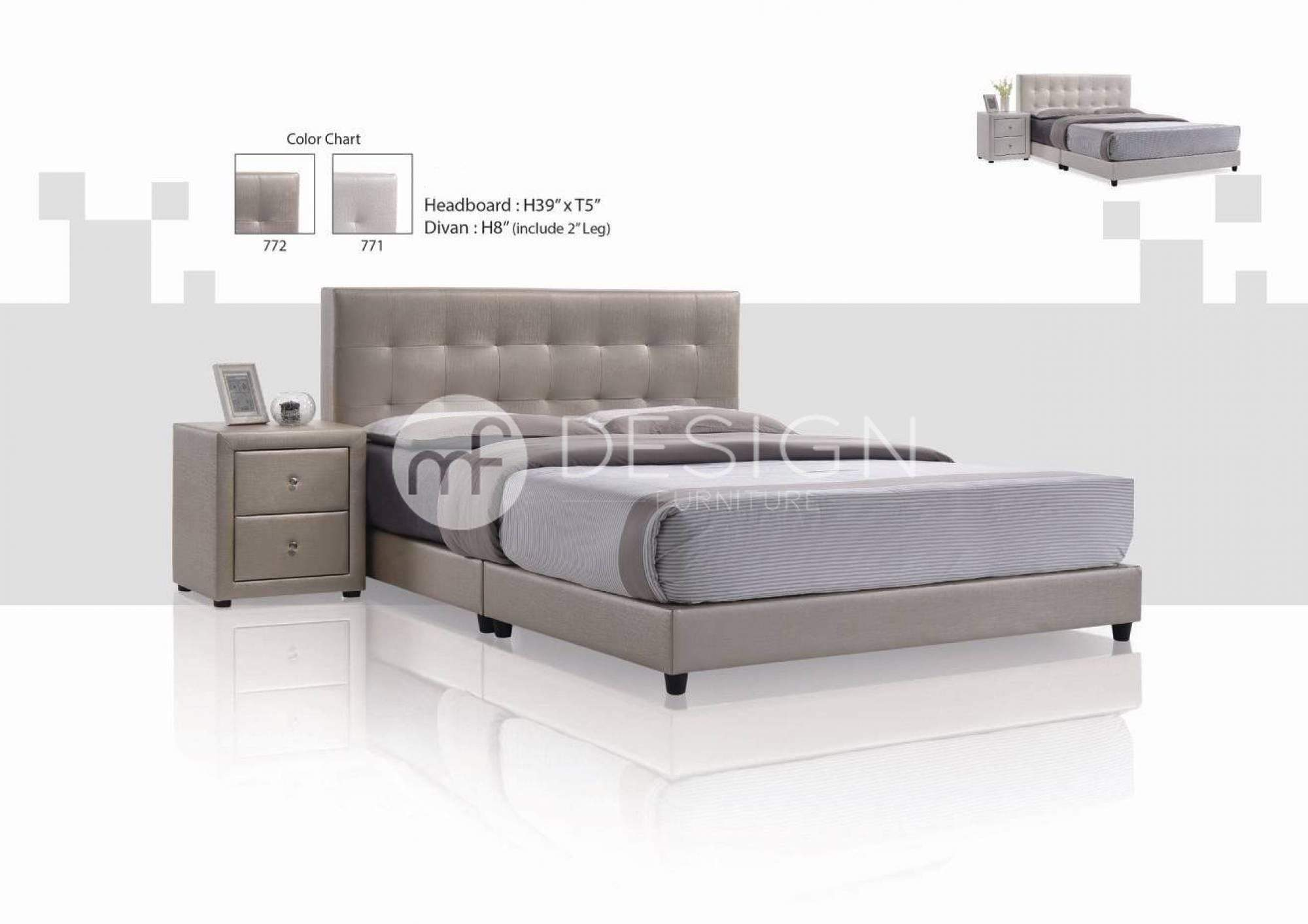 mfdesign88 HAMBURG QUEEN SIZE DIVAN BED