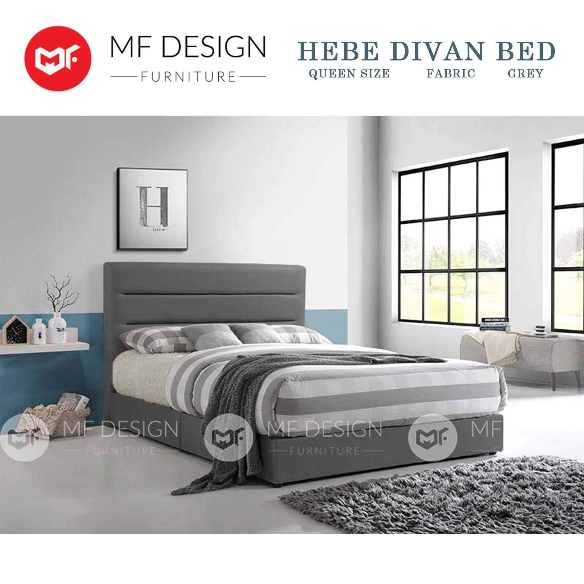 mfdesign88 HEBE DIVAN BED(FABRIC)