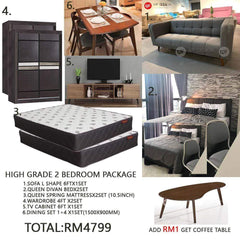 mfdesign88 Home Package Bedroom Package Mf Design High Grade 2 Bedroom Package (HOME PACKAGE)
