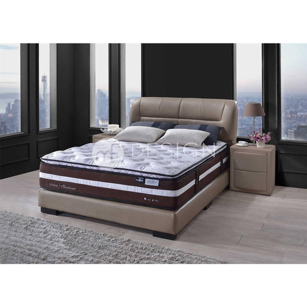mf design honey grand platinum thick 12''pocket spring mattress