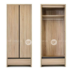 mfdesign88 JANNA 2 DOOR WARDROBE