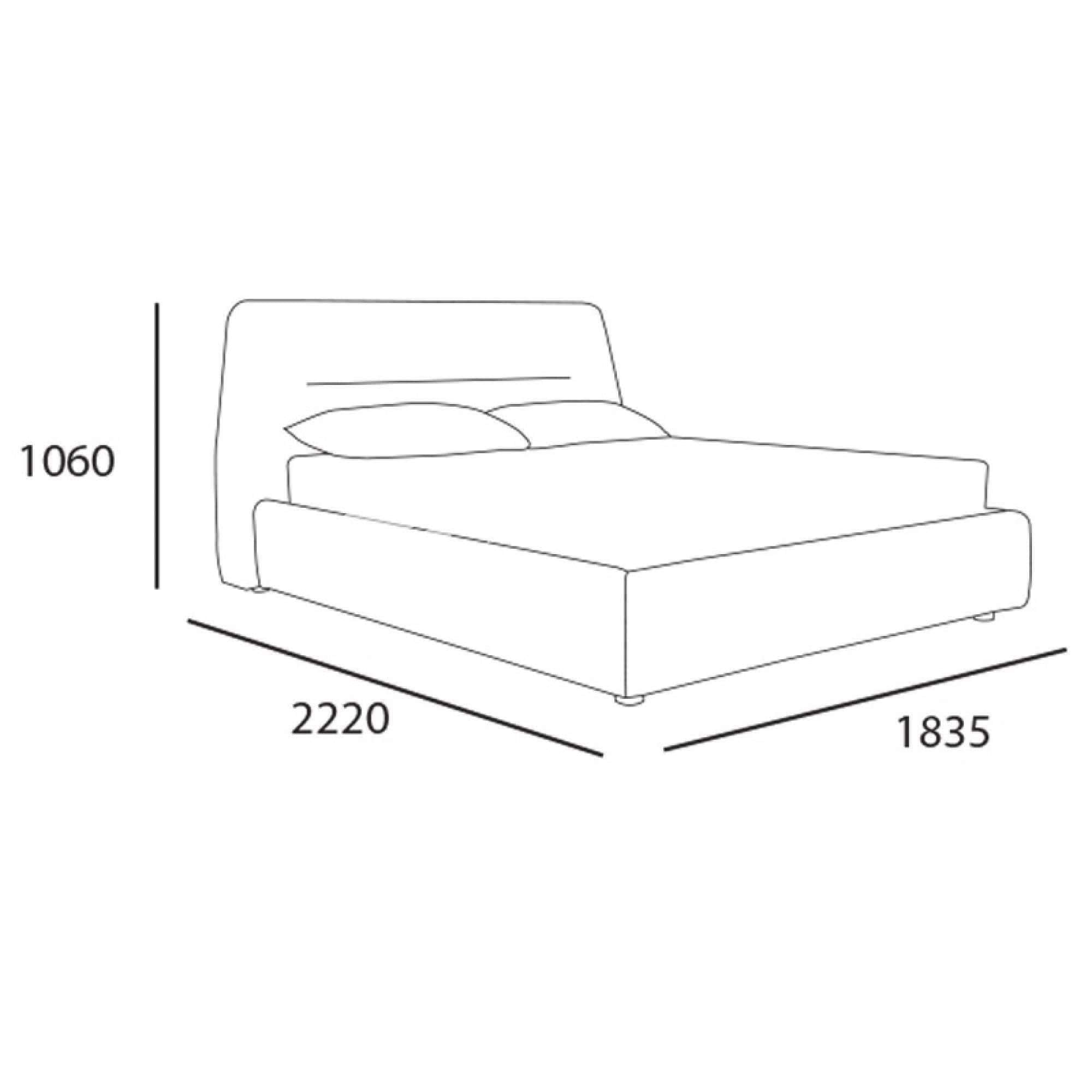 mfdesign88 JOHNY QUEEN SIZE BED