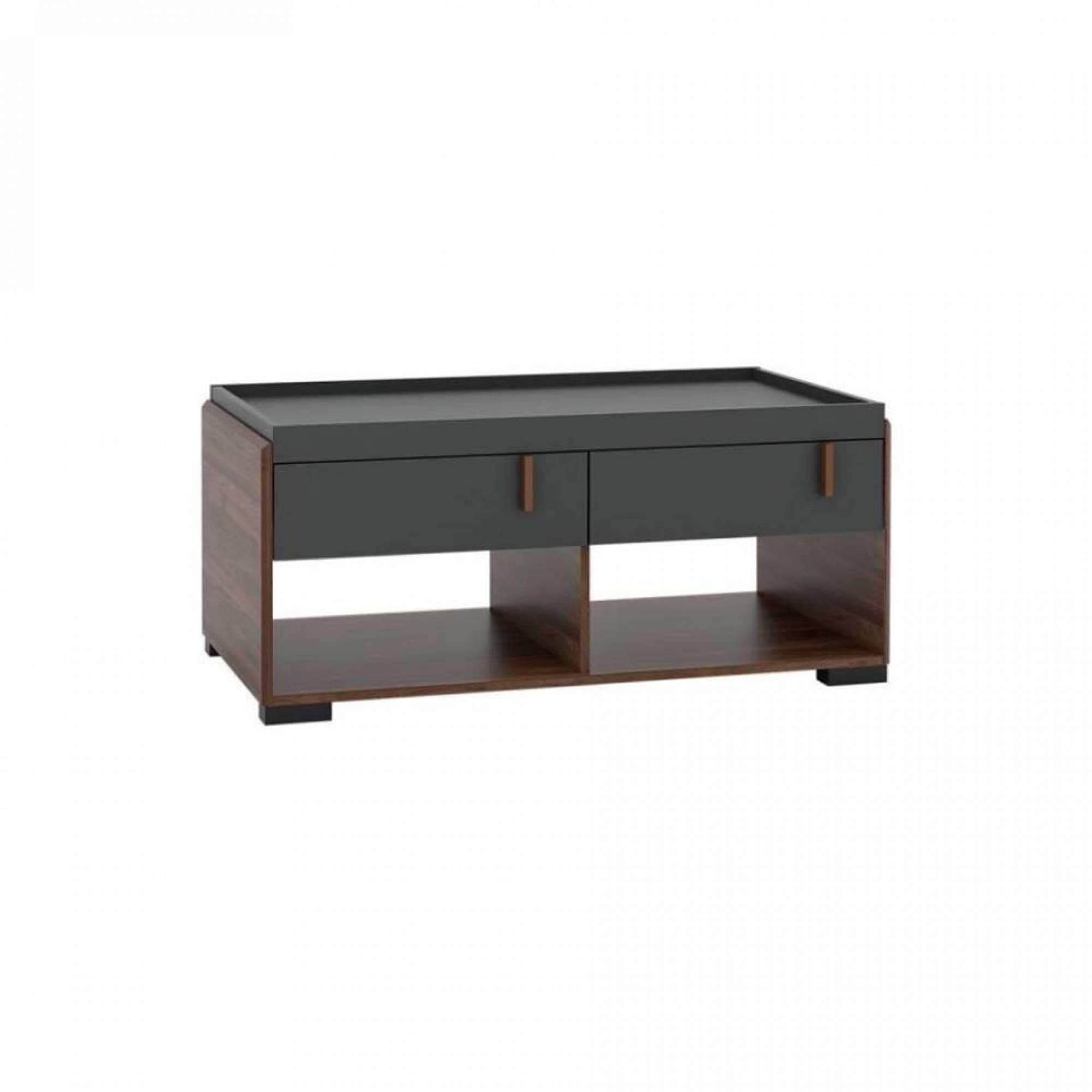 24 JORTEN COFFEE TABLE (WITH TWO DRAWER)