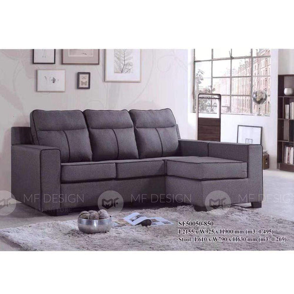 7 L-Shape Sofa MF DESIGN MACK L-SHAPE SOFA
