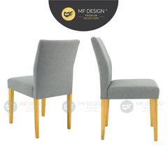 MFD Premium Lance Dining Chair / Wooden Chair / Solid Rubber Wood / Kerusi Makan Kayu Getah / Living Room / Scandinavian