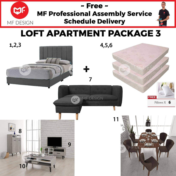 mfdesign88 LOFT HOME PACKAGE 3 (3 BEDROOM) (HOME PACKAGE)