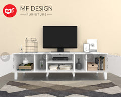 MF DESIGN LVD TV CABINET RACK 6FT