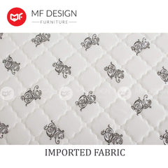mfdesign88 Mattress DR.KOIL MF DESIGN DOMO HIGH QUALITY DAMASK 10 INCH SPRING MATTRESS SINGLE SUPER SINGLE QUEEN KING