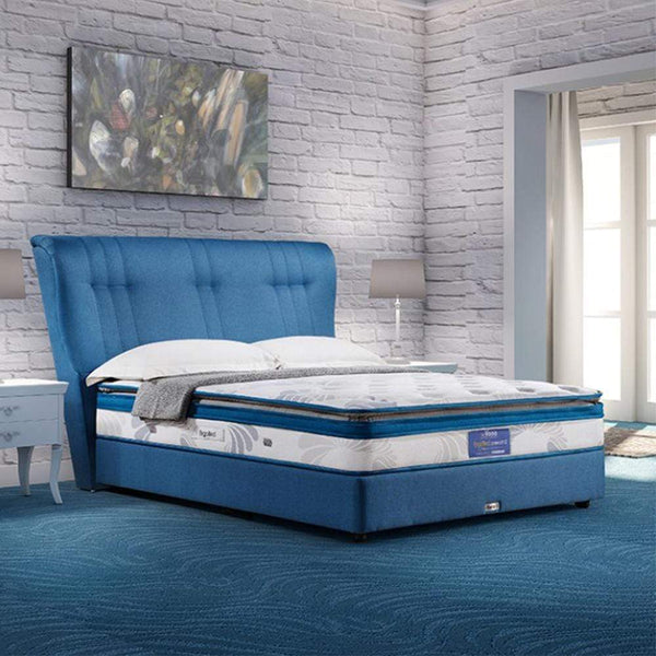 mfdesign88 Mattress Vono Ergobed Comfort 2 Mattress (15 Years Warranty) Pocketed Intalok Spring 1200, Size: 12' Top to Bottom