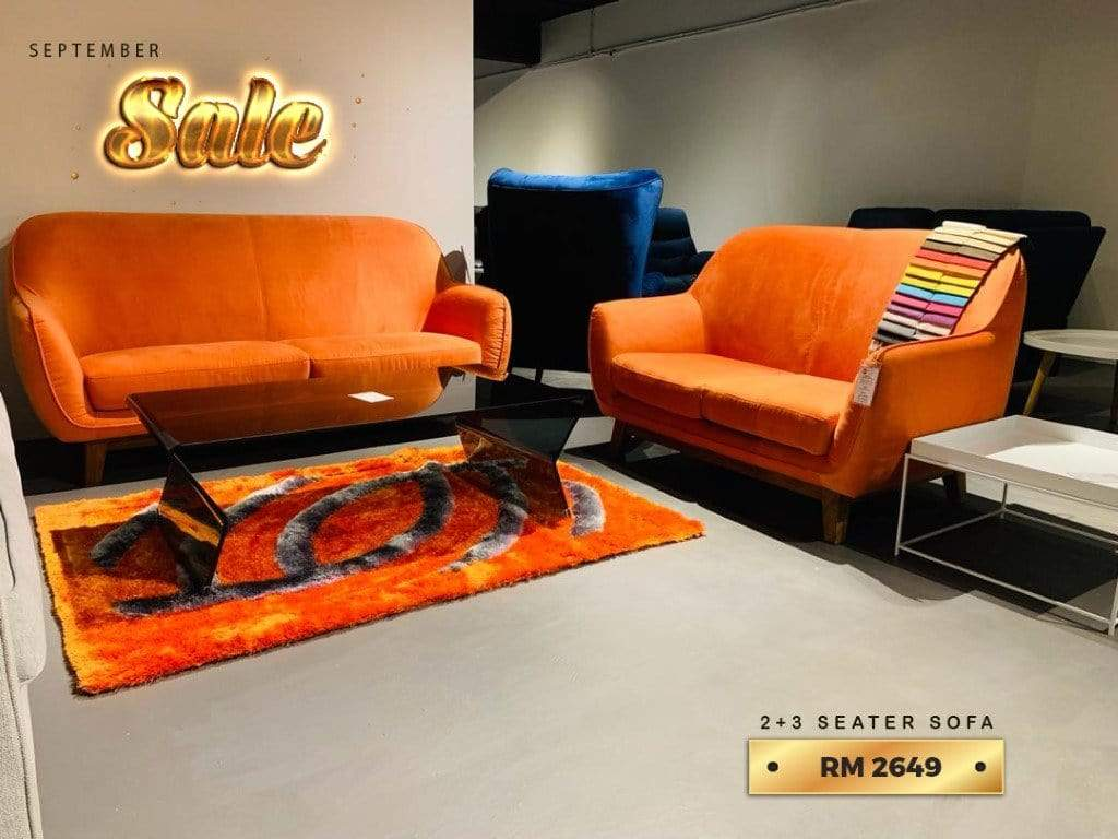 mfdesign88 MF DESIGN 2 SEATER + 3 SEATER SOFA JATI SET (SALES 05)