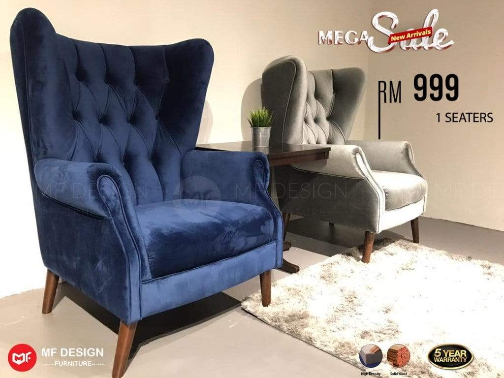 mfdesign88 MF DESIGN ARM SINGLE SOFA / WING CHAIR (SALES 06) (HOT DEALS)
