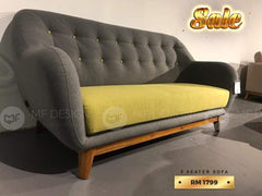 mfdesign88 MF DESIGN SOFA  3 SEATER JATI (SALES 05)