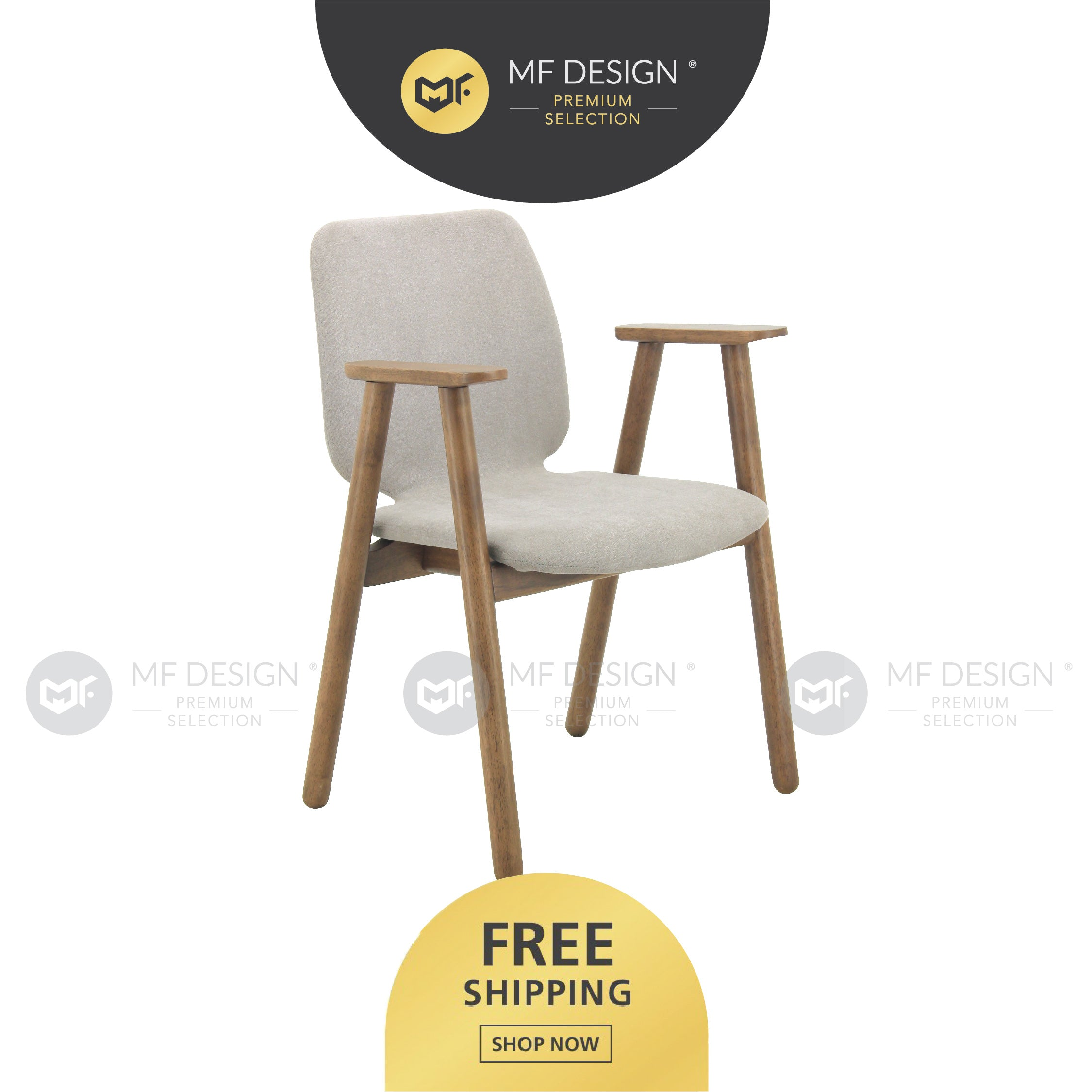 MFD Premium Maclean Dining Chair / kerusi / chair