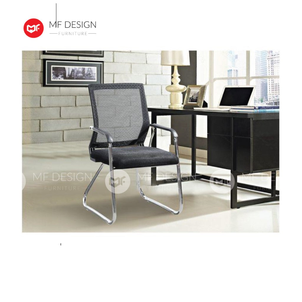 mf design axx Office Chair & Chrome Leg / Kerusi Pejabat / Kerusi Roda /Height Adjustable Swivel / gaming kerusi office /