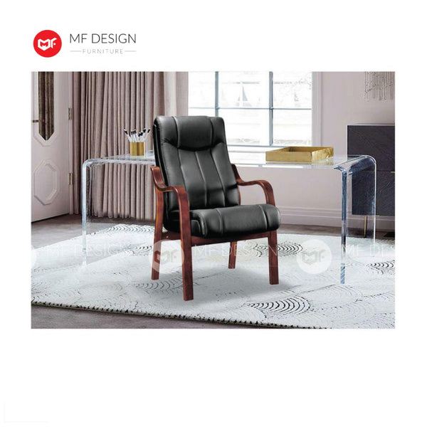 mf design titus Office Chair & Chrome Leg / Kerusi Pejabat / Kerusi Roda /Height Adjustable Swivel / gaming kerusi office /