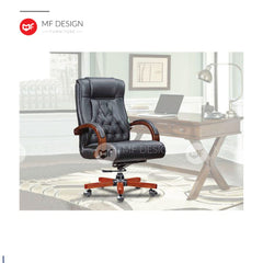 mf design bex Office Chair & Chrome Leg / Kerusi Pejabat / Kerusi Roda /Height Adjustable Swivel / gaming kerusi office /