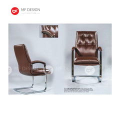 mf design polyex Office Chair & Chrome Leg / Kerusi Pejabat / Kerusi Roda /Height Adjustable Swivel / gaming kerusi office /