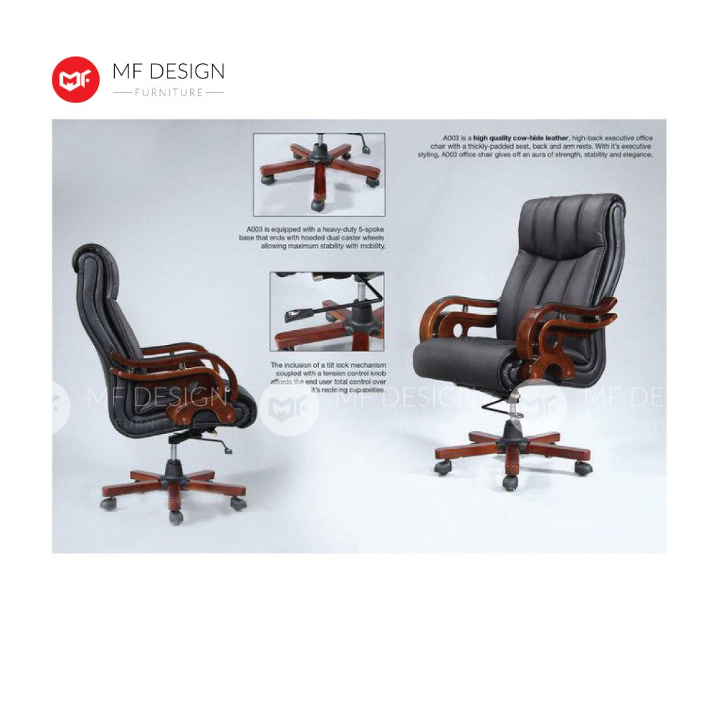 mf design Lex Office Chair & Chrome Leg / Kerusi Pejabat / Kerusi Roda /Height Adjustable Swivel / gaming kerusi office /