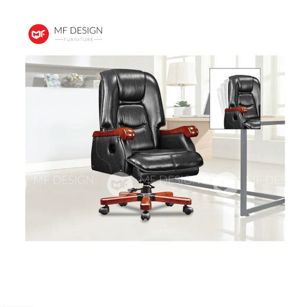 mf design lxa Office Chair & Chrome Leg / Kerusi Pejabat / Kerusi Roda /Height Adjustable Swivel / gaming kerusi office /