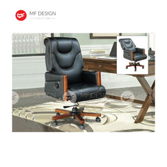 mf design bxa Office Chair & Chrome Leg / Kerusi Pejabat / Kerusi Roda /Height Adjustable Swivel / gaming kerusi office /