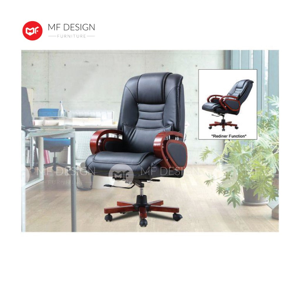 mf design Exa Office Chair & Chrome Leg / Kerusi Pejabat / Kerusi Roda /Height Adjustable Swivel / gaming kerusi office /