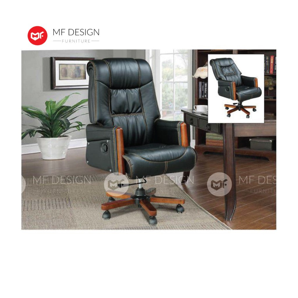 mf design coby Office Chair & Chrome Leg / Kerusi Pejabat / Kerusi Roda /Height Adjustable Swivel / gaming kerusi office /
