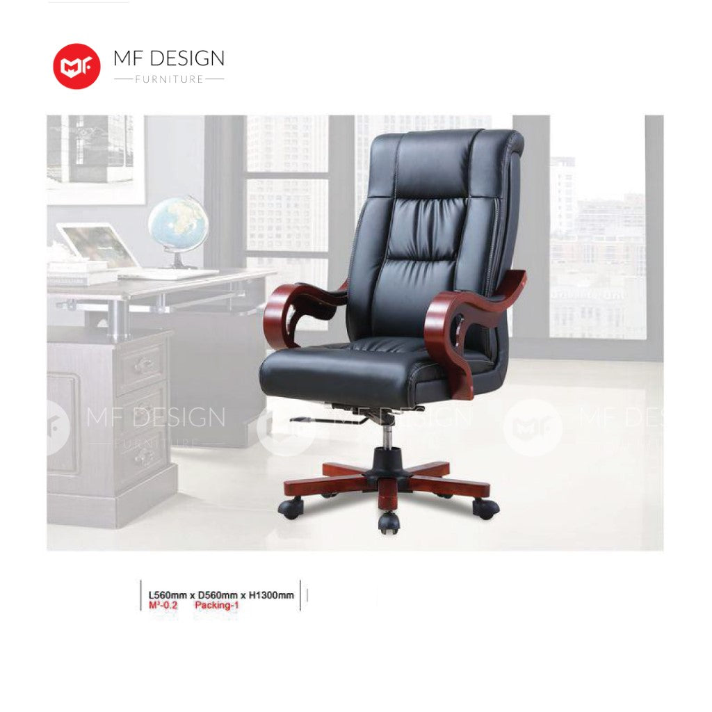 mf design keter Office Chair & Chrome Leg / Kerusi Pejabat / Kerusi Roda /Height Adjustable Swivel / gaming kerusi office /