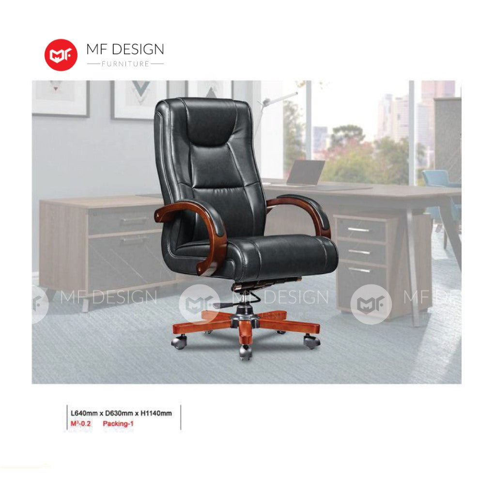 mf design monet Office Chair & Chrome Leg / Kerusi Pejabat / Kerusi Roda /Height Adjustable Swivel / gaming kerusi office /