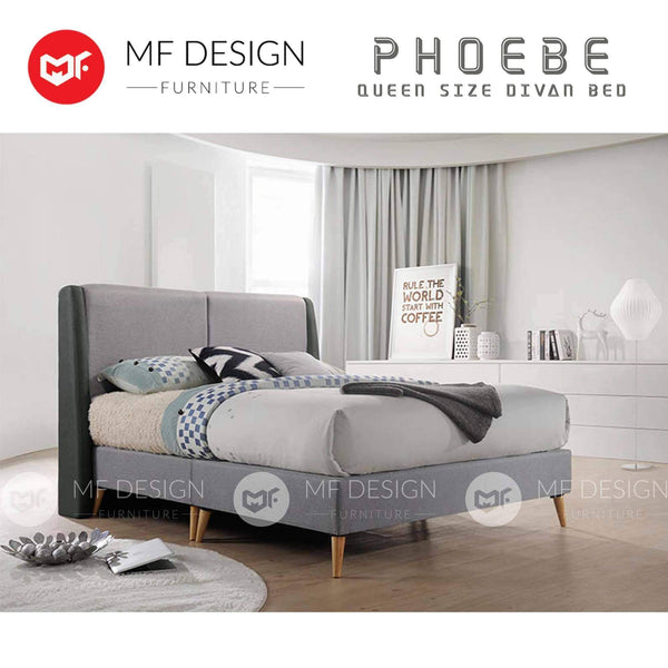 mfdesign88 PHOEBE SCANDINAVIAN DIVAN BED
