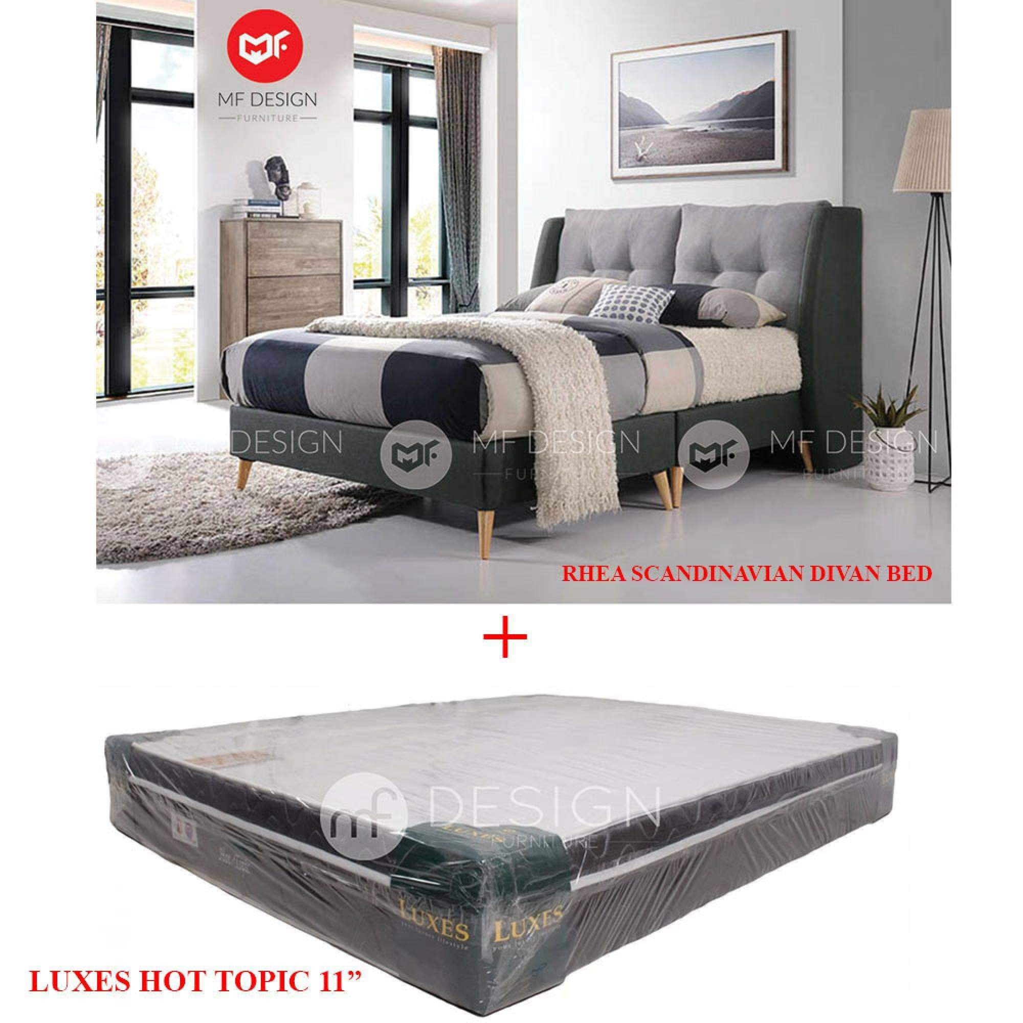 mfdesign88 RHEA DIVAN BED+HOT TOPIC