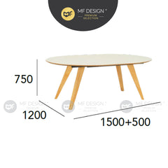 MFD Premium Rita Dining Table  / Meja Makan / Table