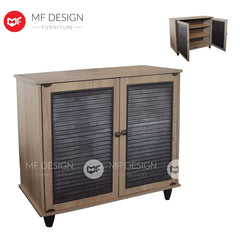 31 Shoe Rack BOB 2 DOOR SHOE CABINET