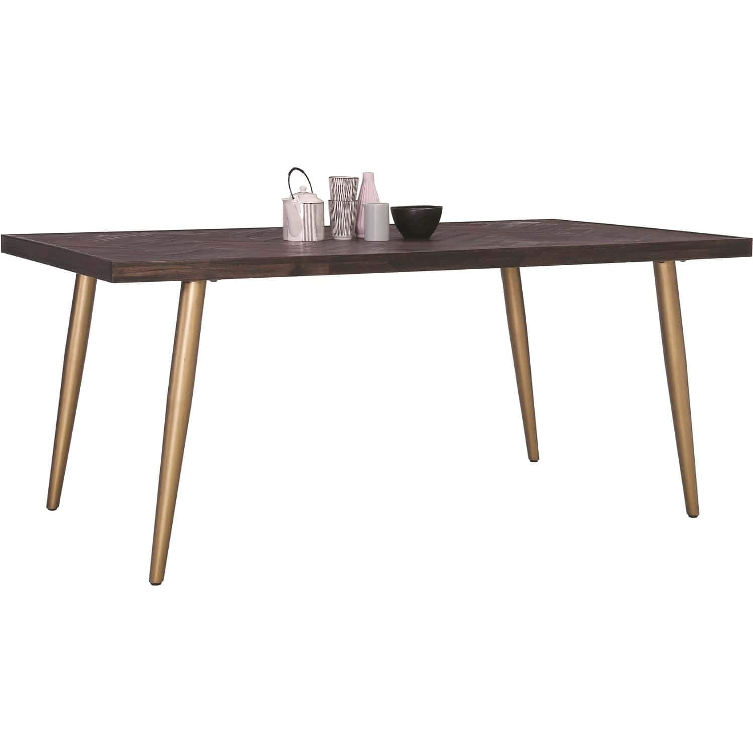 mfdesign88 SIDEN 1.8M Dining Table In Dark Brown Colour