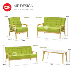 mfdesign88 Sofa Amazon Antique sofa 1+2+3+ Coffee Table