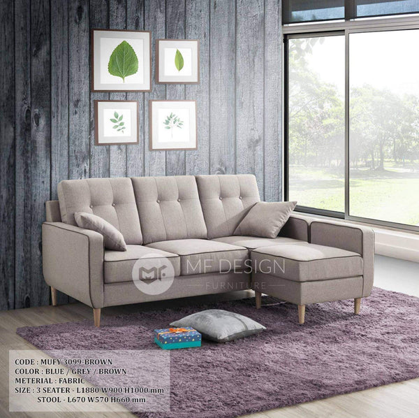 mfdesign88 Sofa Austin L Shape Sofa