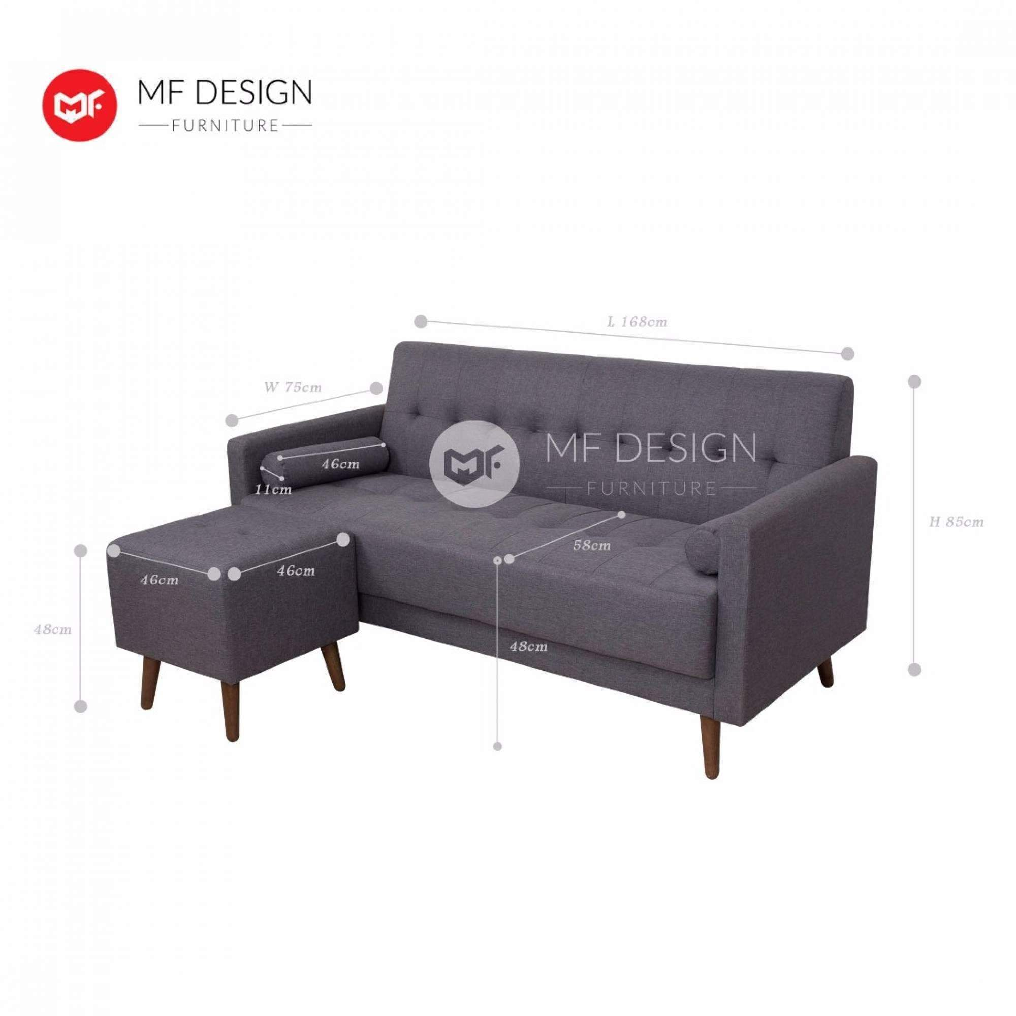 mfdesign88 Sofa Baldur L Shape Sofa
