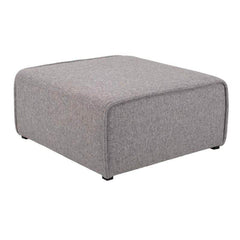 mfdesign88 Sofa BARRAS FABRIC – PEBBLE OLIVIA OTTOMAN