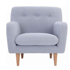 mfdesign88 Sofa BELLA 1 seater fabric sofa