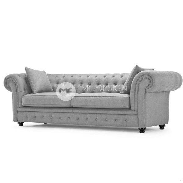 mfdesign88 Sofa Chesa Chesterfield Three Seater Sofa