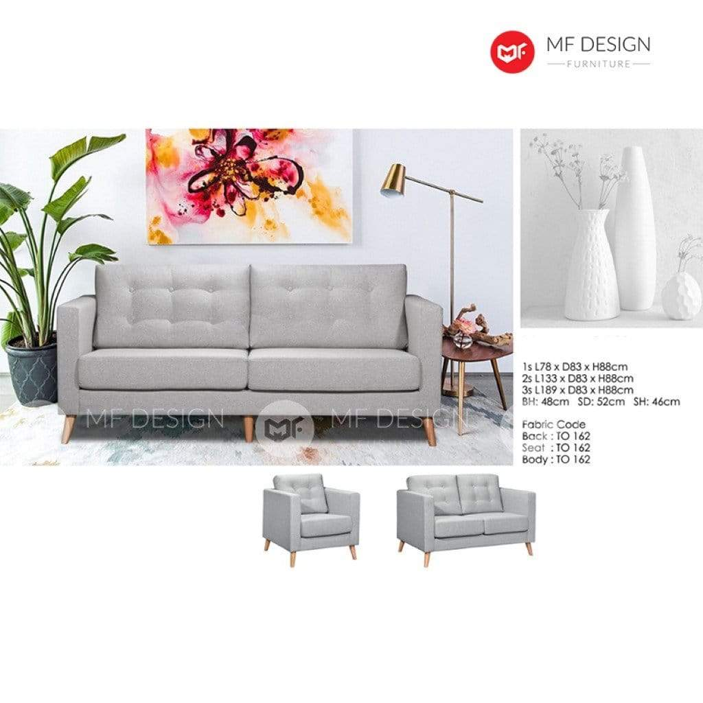 11 Sofa MF DESIGN ADI SOFA SET 1+2+3 / 2+3 / 3 SEATER SOFA