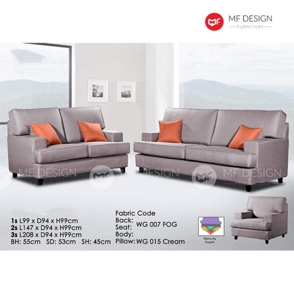 11 Sofa MF DESIGN FIVA SOFA SET 1+2+3 / 2+3  3 SEATER