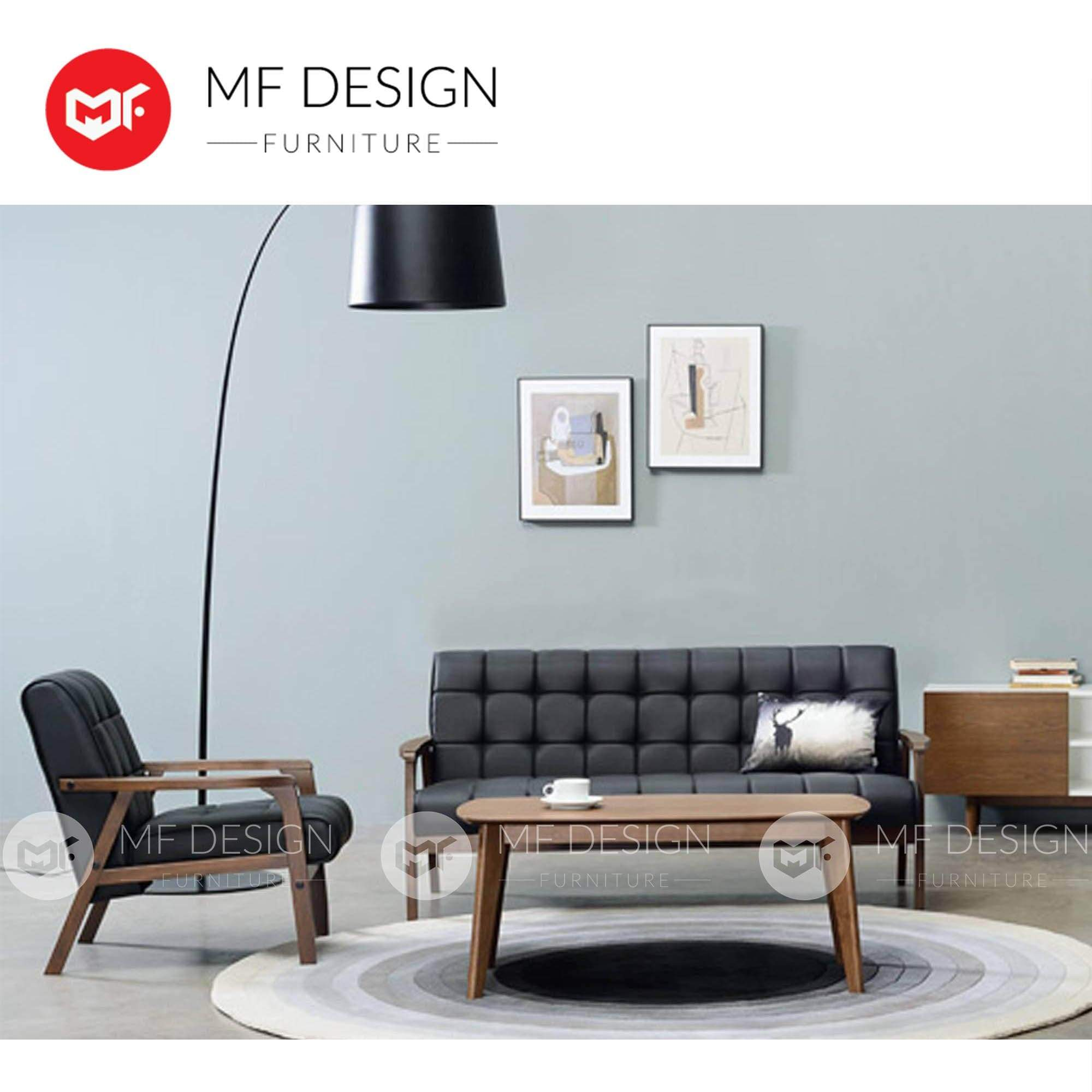mfdesign88 Sofa Sweden II Antique Espresso 1+2+3+Coffee Table