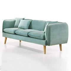 mfdesign88 sofa TURQUISE COLOR Avery custom made 1 seater fabric sofa-turquoise
