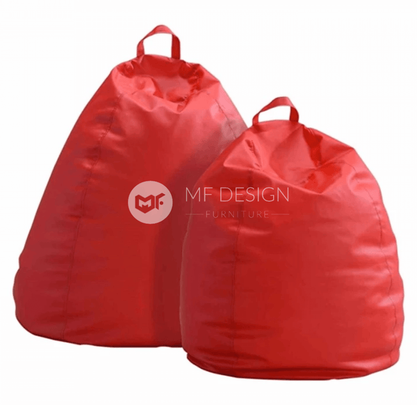 mfdesign88 Sofa Waterdrop 4 Kg Leather Bean Bag